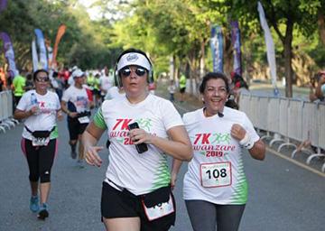 Fundación celebra carrera 7K