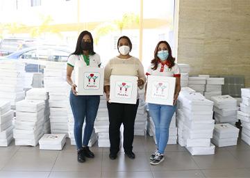 """Fundación Avanzare realiza campaña """"Pañaletas"""""""